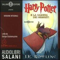 Harry Potter e la camera dei segreti letto da Giorgio Scaramuzzino. Audiolibro. 2 CD Audio formato MP3. Ediz. integrale (Vol. 2)