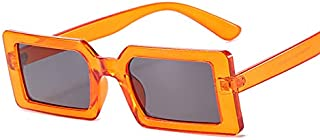 DEYONGDPTYJ Goodr Sunglasses, Small Rectangular Women's Sunglasses Retro Sunglasses Square Retro Lens Decoration (Frame Co...