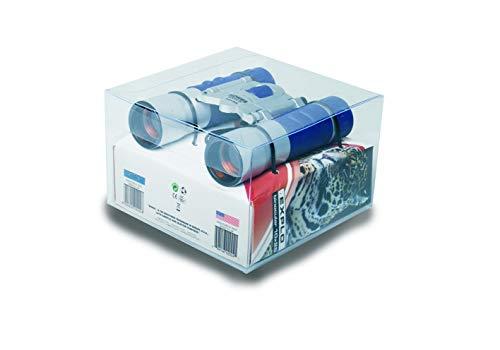 Konus Explo Jumelles 10 x 25 C.F. en Caoutchouc Argent Bleu Pocket à feu Central