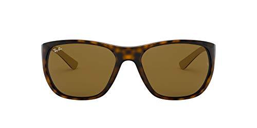 Ray-Ban 0RB4307 Gafas de Sol, Havana, 61 para Hombre
