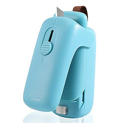 Bag Sealer, Mini Handheld Heat Sealer and Cutter Portable Bag Sealer for Food Storage, Snack Fresh (Battery Not Included)