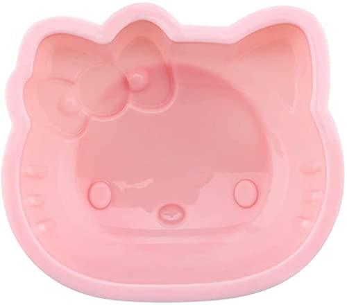 Hello Kitty Kuchenform, 15,2 cm, antihaftbeschichtet, aus Silikon, für Ofen und Topfbacken (Pink)