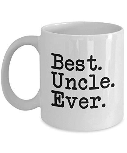 Funny Mug-Best Uncle Ever-Best Gifts for Uncle-11 oz Taza de café