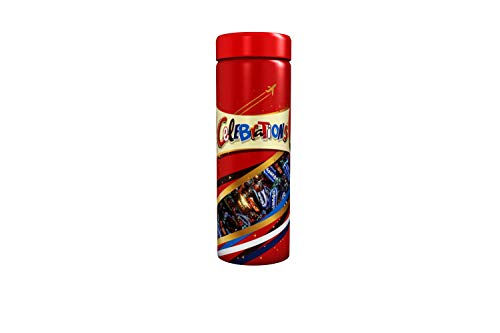 Celebrations Chocolate Tall Jar, (Maltesers, Galaxy, Snickers and More), 810 g