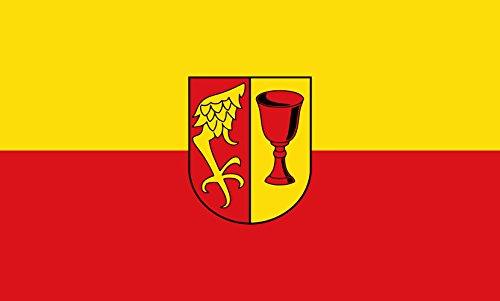 Unbekannt magFlags Tisch-Fahne/Tisch-Flagge: Gärtringen 15x25cm inkl. Tisch-Ständer