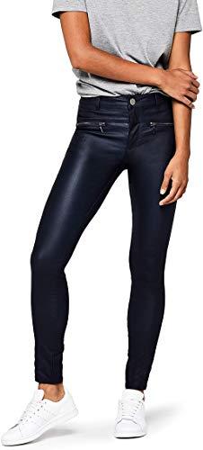 Marca Amazon - find. Pantalones Mujer, Negro, 40, Label: M