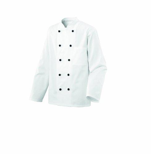 Exner Kinderkochjacke Kochjacke Bäckerjacke weiß Gr. 110