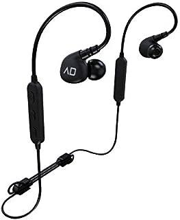 ALPHA DELTA D2W Hifi Sports Sweat Resistant Bluetooth Sports Earphones Black