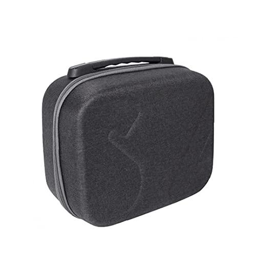 FeelMeet Portable Hard Shell-Tasche, die Lagerung Fall kompatibel mit DJI FPV Combo V2 Brille Multi Usage Shock-Proof Kratzfest Handtasche Schwarz