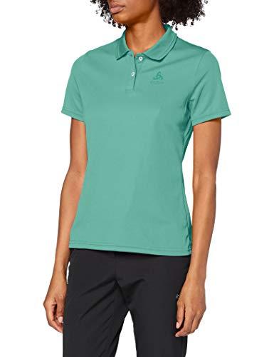 Odlo Damen Polo Shirt s/s Tilda Poloshirt, Creme de Menthe, XS