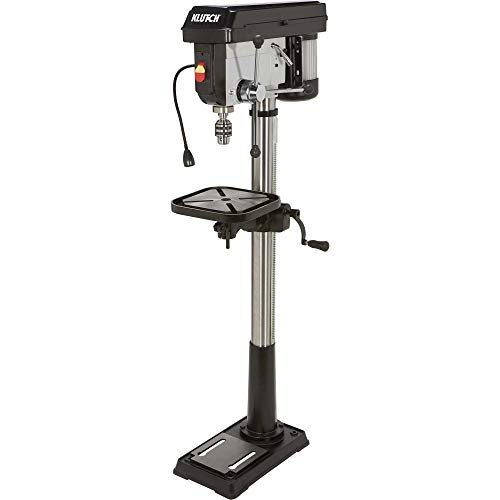 Klutch Floor Drill Press - 12-Speed, 14in. 1 HP, 120V