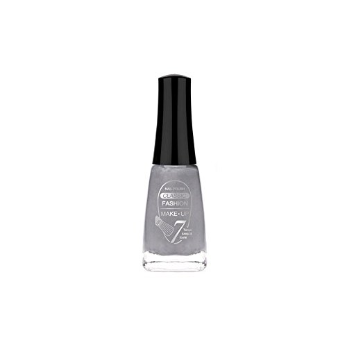 FASHION MAKE UP - Vernis à ongles Classic Silver - Fabrication Européenne