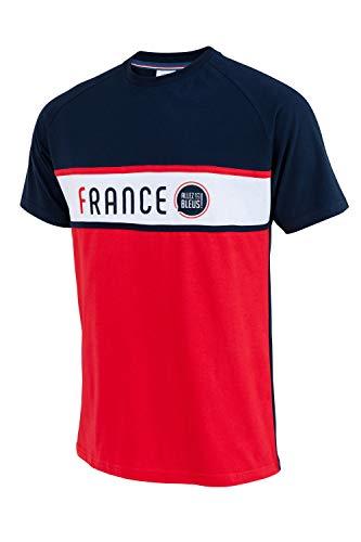 Allez Les Bleus T-Shirt Frankreich – Offizielle Kollektion Herren – XXL
