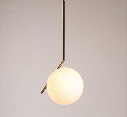 CNMKLM Lampadario Moderno e minimalista a sfera di vetro Lampadari/Lampade a sospensione lampadari Lampada sospensione da soffitto
