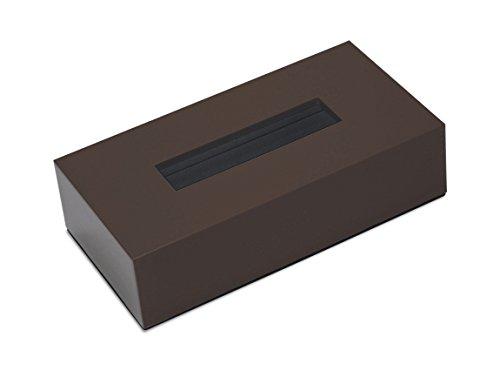 橋本達之助工芸 ティッシュボックス カラー ブラウン 1コ入
