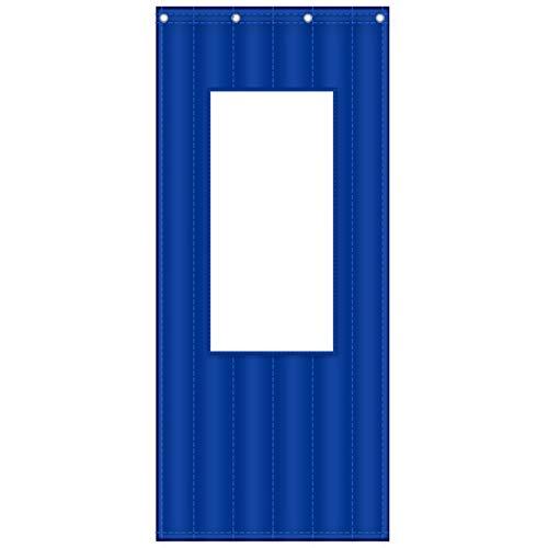 JINGMAI Wärmeschutzvorhang, Oxford-Stoff PVC-Fenster Isolierter Türvorhang, Anti Regen Und Schnee Thermovorhang Zum Schiebetür, Anpassbar (Color : Window 30x40cm, Size : 0.9x2m)