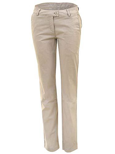 agon Pantalon chino de golf pour femme avec poche pour balle...