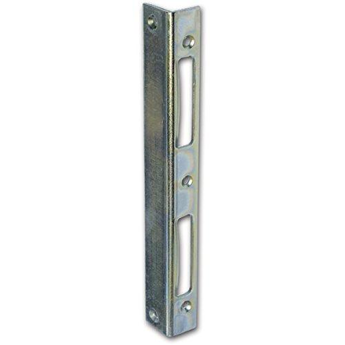 SECOTEC sluitplaat 210 mm, veiligheids-hoeksluitplaat, scherheidssluiting, 1 stuk
