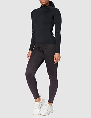 Aurique Amz1308 Gym Tops for Women, Black, 10