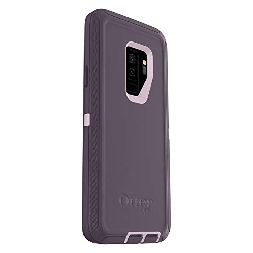 Rugged Protection OtterBox Defender Series Case for Samsung Galaxy S9+ Plus, Case Only - Bulk Packaging - Purple Nebula (Winsome Orchid/Night Purple)