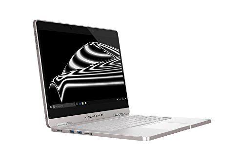 Porsche Design BOOK ONE, 33.8 cm (13.3' Zoll Laptop), QHD+ Display (IPS, touch), 7. Gen Intel Core i7-7500U Prozessor, 512 GB SSD Festplatte, 16 GB RAM, Windows 10 Pro, Pure Silver