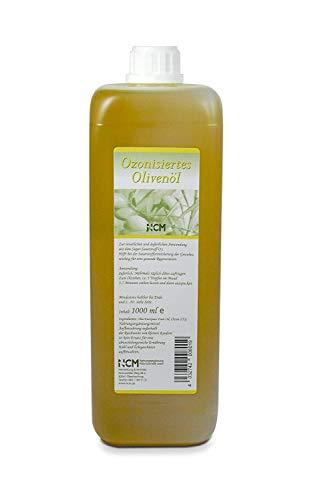 NCM ozonisiertes Olivenöl 1000ml, kaltgepresstes Olivenöl angereichert mit Sauerstoff