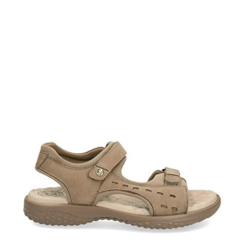 Sandalias de Mujer Panama Jack Nilo Basics B4 NAPA Grass Taupe