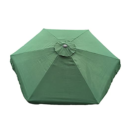 Syina Sonnenschirm Ersatzbezug 2M/2,7M Durchmesser Regenschirm Ersatz Wasserdichter und UV-schützender Regenschirm Stoff Garten Sonnenschirm Baldachin Ersatz NOLY Cover