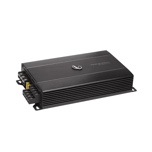 Infinity Primus 9004A 4 Channel High Power Class A/B Car Amplifier (RMS: 90 4 @4ohms 110 4 @ 2ohms)