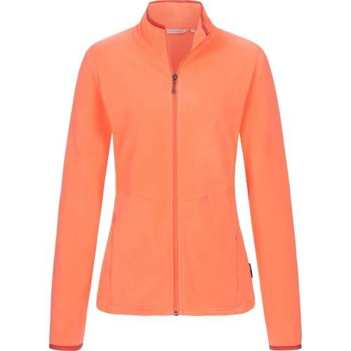 Linea Primero Fleecejacke Damen Decorah Women Farbe apricot, Größe 50