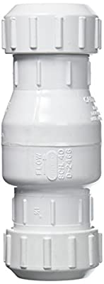 """1.5"""" Compression PVC Check Valve from Zoeller"""