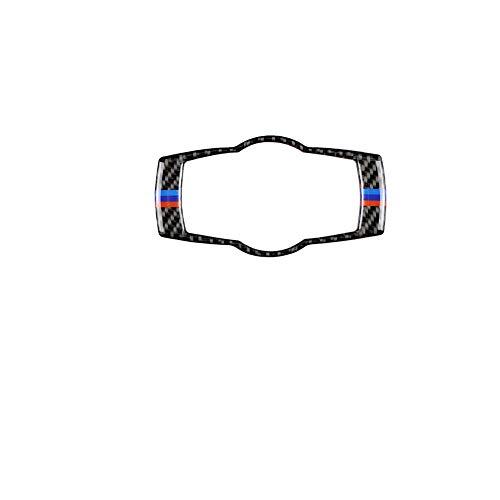 Demarkt Carbon Fiber Scheinwerferschalter Dekorativ Cover Sticker für 3er E90 E92 E93 320i 325i 2005-2012