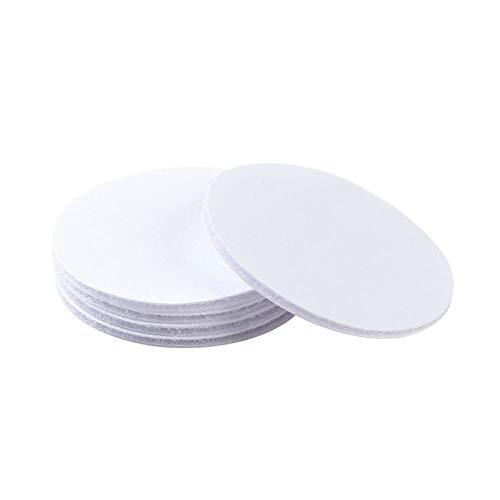 5 stuks herbruikbare, dubbelzijdig plakband, waterdichte, sterke, kleverige kleefpads, geweefbanden voor muren, vloeren, deur, glazen, metalen, spiegel, 0,3 x 6 x 6 cm