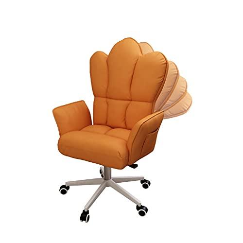 Silla de guardería de la silla de oficina, silla de computadora, silla de escritorio de la silla de la computadora de la manera, silla giratoria de robo ajustable ejecutivo con silla de trabajo girato
