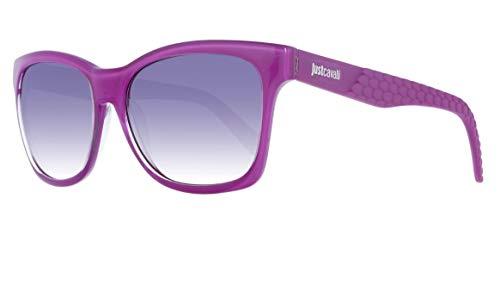 Just Cavalli JC649S 75B Sonnenbrille JC649S 75B Schmetterling Sonnenbrille 54, Violett