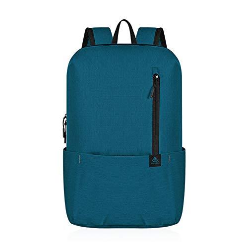 Hunt Power Anmeilu New Outdoor Men Women Kid Casual Backpack Sports Bag Waterproof Bag Light Travel Bag Leisure School Bag 12 Colors ,Blue,10L