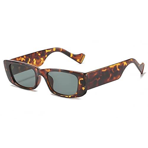 LUOXUEFEI Gafas De Sol Gafas De Sol Rectangulares Para Mujer Accesorios Para Gafas Naranja Verde Verano