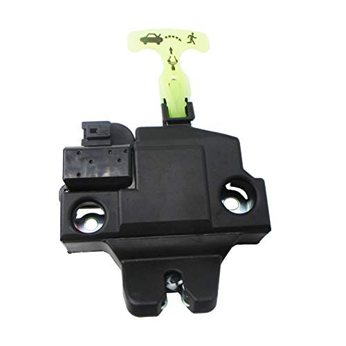 Trunk Lock Lid Latch Assembly Compatible for 2007-2011 Toyota Camry W/Keyless Entry 64600-06010 64600-33120