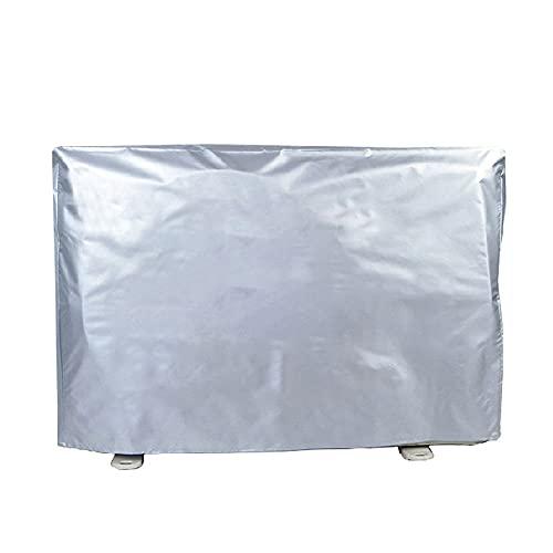Copertura impermeabile per condizionatore d'aria, copertura impermeabile per finestra, dissipazione del calore, copertura universale in PEVA con rivestimento riflettente (3P)