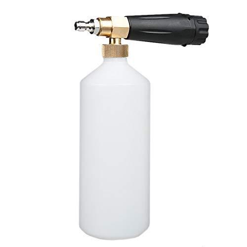 BRIGHTZ Presión Lavadora Varita, Lavadora de presión Jet Wash liberación rápida de la nieve de espuma Lanza, espuma Cannon, Botella 1L, 5 arandela de la presión boquillas for limpieza 1/4