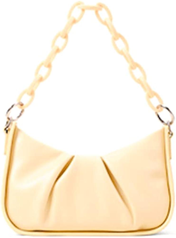 Women Top-Handle Bags Ladies cloud Tote Handbag and Purses Large Capacity Hobo Bag with Zipper Closure