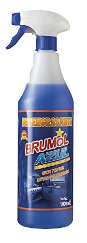 Brumol Desengrasante Azul con Pistola - Paquete de 12 x 1000 ml - Total: 12000 ml