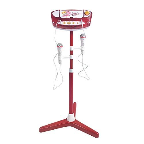 AMITAS Kinder Karaoke Kindermikrofon Kinder Standmikrofon mit MP3 Funktion Schönes Geschenk für Mädchen Junge