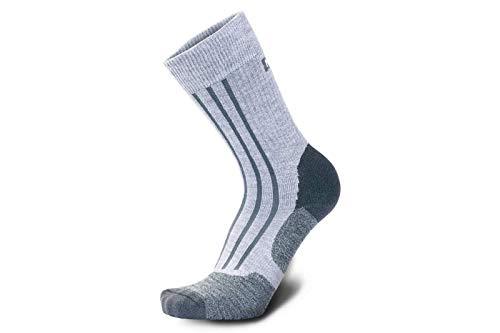 Meindl Unisex-Adult Socks, hellgrau, 45-47