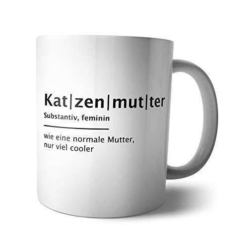 Kaffee-Becher - Tasse Tier Eltern Definition | Hundepapa Hundemama Katzenpapa Katzenmama Katzenliebhaber Hundeliebhaber, Verpackung:Ohne Box, Design:Design 2