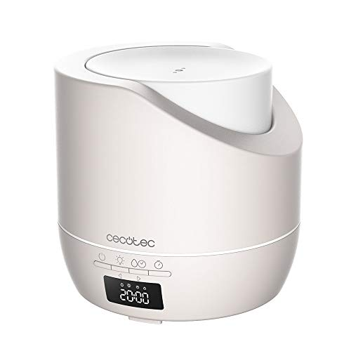 Cecotec PureAroma 500 Smart Sand Aroma Diffuser 500ml Capacity 30m² Coverage LED Display 3 Modes Timer Timer