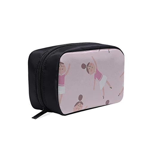 Unisexe sac de voyage dessin animé mignon coloré collège jupe sacs cosmétiques voyage meilleurs sacs cosmétiques pour femmes sac pour voyager sacs cosmétiques étui multifonctionnel tout-petit sac de