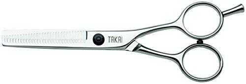 Takai Europa - Tijeras de peluquería, 30 dientes, 12,7 cm