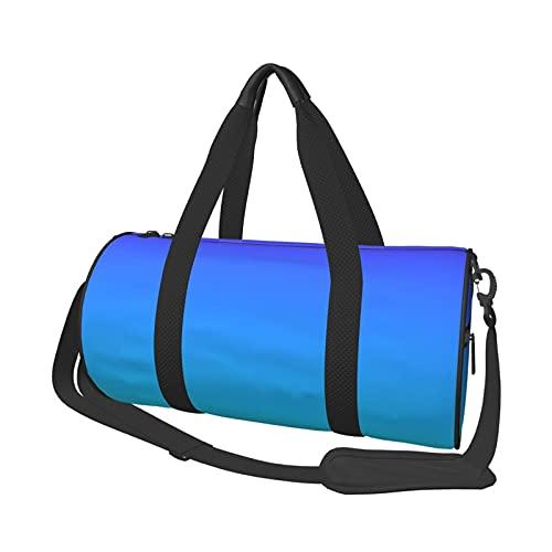 MBNGDDS - Borsone da viaggio per carta da parati, leggero, pieghevole, impermeabile, con tracolla, per sport e palestra, per uomini e donne, Come mostrato, Taglia unica,