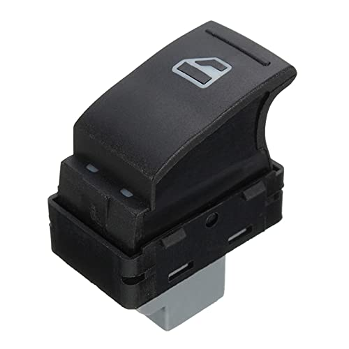 YSNUK Coche del Lado del Pasajero Eléctrico Interruptor De Ventanilla Principal Botón 7E0959855 para VW Transporte T5 2005-2009 T6 2009-2014